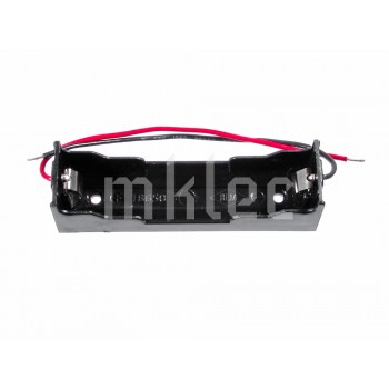 18650 1S Single Cell Battery Holder with Leads