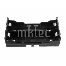 18650 2 Cell Battery Holder with Solder Pins