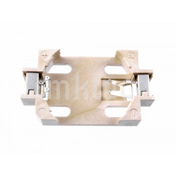 20mm Coin Cell Battery Holder - Tan