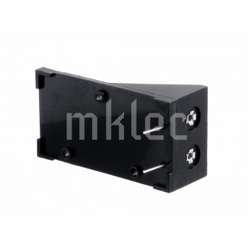 9V Plastic Battery Holder - Connector Snaps With Pins