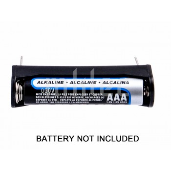 1-AAA Single AAA Battery Holder With PCB Solder Pins