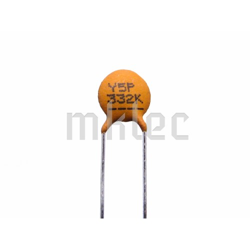 3 3nf Ceramic Disc Capacitor Xicon