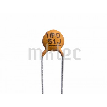 51pF Ceramic Disc Capacitor - Xicon