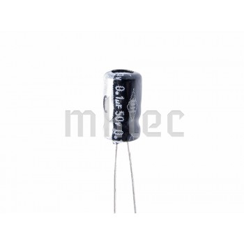 0.1uF 50v Electrolytic Capacitor