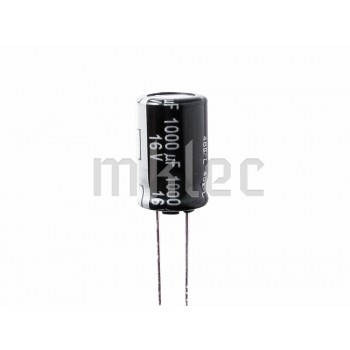 1000uF 16V Low Impedance Electrolytic Capacitor - Panasonic