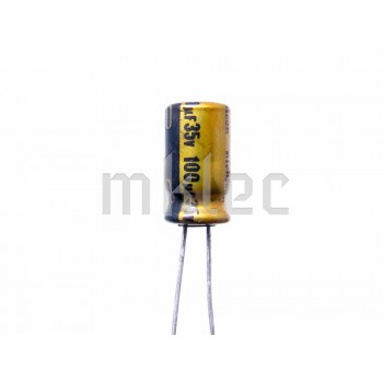 100uF 35v Audio Grade Electrolytic Capacitor - Nichicon