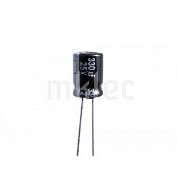 330uF 25V Low Impedance Electrolytic Capacitor - Panasonic