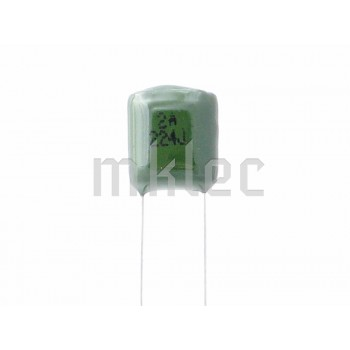220nF 0.22uF Polyester Film Capacitor 224