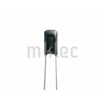 1.2nF Polyester Film Capacitor 122