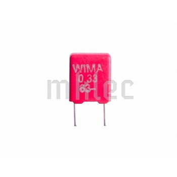 330nF 63v Polyester Film Polybox Capacitor - WIMA