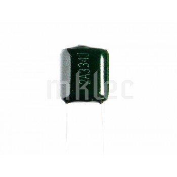 330nF 0.33uF Polyester Film Capacitor 334