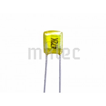 4.7nF 50v Polyester Film Capacitor - Nichicon