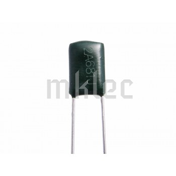 680pF Polyester Film Capacitor 681