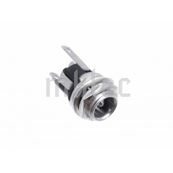 DC Metal Power Socket 5.5mm - Switched