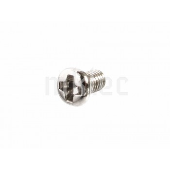 M3 x 5mm Steel Phillips-head Screws - 10 pack
