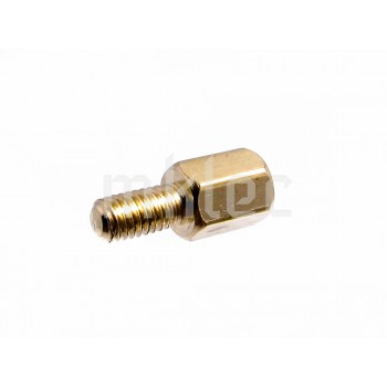 M3 x 12mm Hexagonal Brass Male Female Spacer