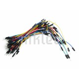 Flexible Breadboard Jumper Wires - 65 pieces