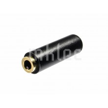 3.5mm TRRS 4-pole Female Socket - Black