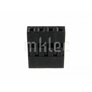 Dupont-style 1x4 Single Row 4 Pin Connector Housing