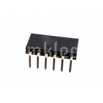 6-Pin 90 Degree Female Header Pin