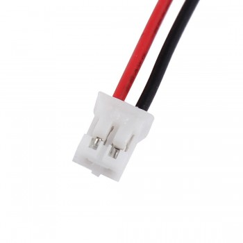 Micro JST 2.0 2-Terminal Male Connector with Female Socket