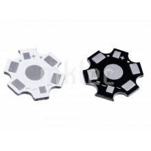 1W 3W 5W High Power LED Star Base - Aluminum