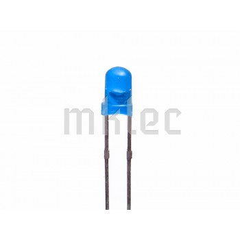 3mm Diffused LED - Various Colors