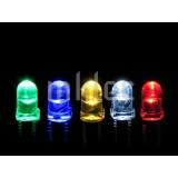 3mm Clear LED Assortment - 100 pieces