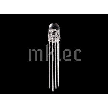 5mm LED RGB Common Anode - Clear