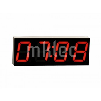4 Digit 7 Segment Display with Colon - Red - Common Anode