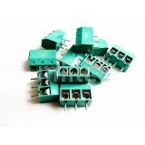 3-pin Green Terminal Block