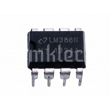 LM386N-1 .3W Low Voltage Audio Amplifier IC