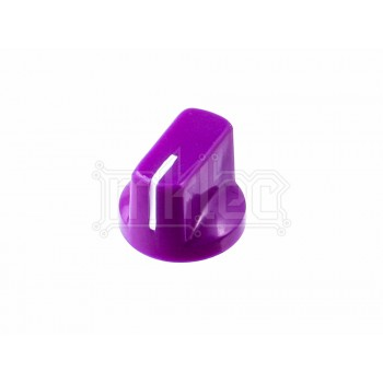 Davies 1510 Style Potentiometer Knob - Purple