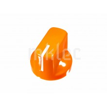 Davies 1510 Style Potentiometer Knob - Orange