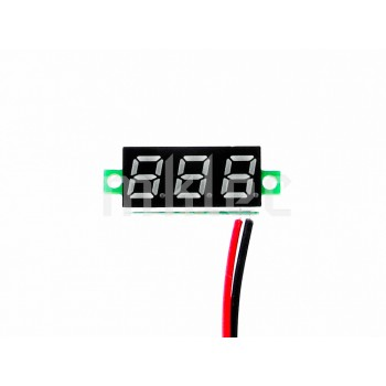 Small Digital Voltage Meter Module - Green