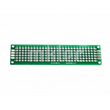 2cm x 8cm Perforated Prototyping PCB Board - Double-sided