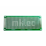 3cm x 7cm Perforated Prototyping PCB Board - Double-sided