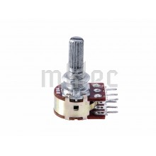 100K Ohm B100K Duplex Potentiometer 20mm Shaft