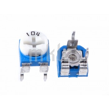 100K Ohms 104 Trimmer Potentiometer