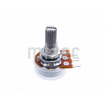 1M Reverse-Logarithmic Alpha Potentiometer - Solder Pins