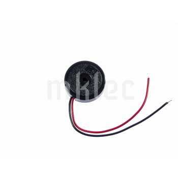 17mm Piezo Transducer with Plastic Housing