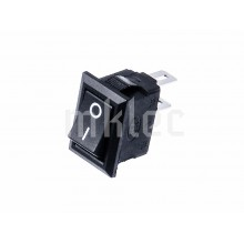 10mm x 15mm Black On-Off Toggle Switch - 3A