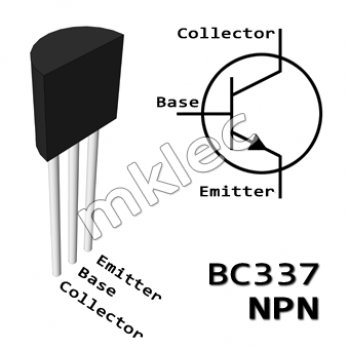 BC337 NPN TO-92 Amplifier Transistor