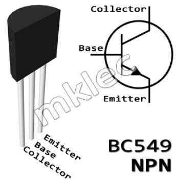 BC549C NPN TO-92 General Purpose Transistor