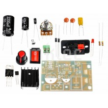 LM317 Adjustable DIY AC-DC Voltage Regulator PCB Kit