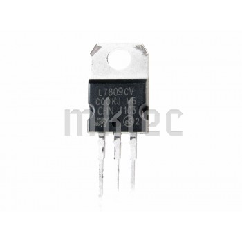 L7809 9V 1A DC Voltage Regulator