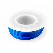 24 AWG Blue Stranded Hook-up Wire - 25ft
