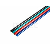 Four Conductor RGB Wire - 22 AWG - Stranded - 1 ft