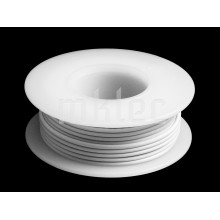 24 AWG White Stranded Hook-up Wire - 25ft