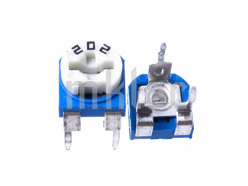 2k Ohms 202 Trimmer Potentiometer